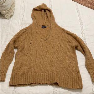 Cognac wool pullover
